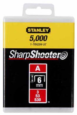 STANLEY 1-TRA204T Spony LD balení 1000ks 6mm typ-A(7606693)