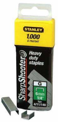 STANLEY 1-TRA704T Spony HD balení 1000ks 6mm typ G(7791202)
