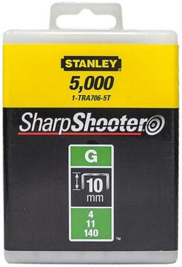 STANLEY 1-TRA706-5T Spony HD balení 5000ks 10mm typ-G(7801394)