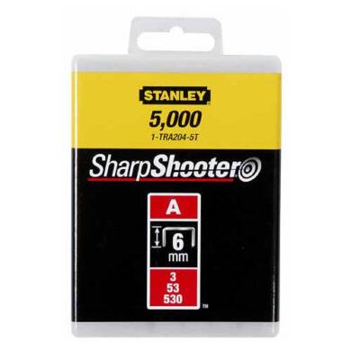 STANLEY 1-TRA204-5T Spony LD balení 5000ks 6mm typ-A(7852946)