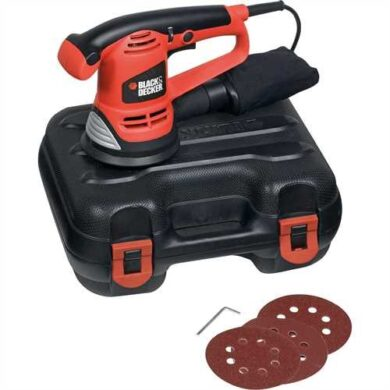 BLACK DECKER KA191EK-QS Bruska excentrická 125mm 480W  (7882404)