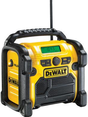 DEWALT DCR019-QW Aku přenosné rádio 10,8-18V AUX (bez akumulátoru)(7889509)
