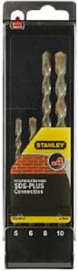 STANLEY STA56012-QZ Sada vrtáků SDS-plus 4dílná(7901243)