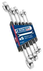 EXPERT E112501 Sada klíčů 5dílná na převlečné matice-5 dílná sada klíčů na převlečné matice
