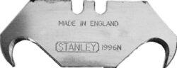 STANLEY 0-11-983 Čepel 1996 (5 ks)-Nůž náhradní háček oboustranný pro pevný a výsuvný nůž, 5ks