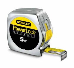 STANLEY 0-33-194 Metr svinovací 5m plast PowerLock blister-Svinovací metr 5m x 19mm Powerlock PVC STANLEY