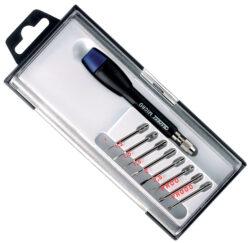 EXPERT E161109 Sada šroubováků s výměnnými dříky MICRO-Sada mikrošroubováku