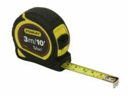 STANLEY 0-30-686 Metr svinovací 3m/10ft (mm+inch) Bimateriální Tylon blister-Svinovací metry Tylon™ - metrická/palcová stupnice