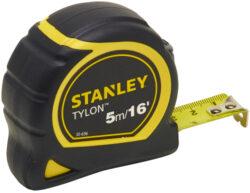 STANLEY 0-30-696 Metr svinovací 5m/16ft (mm+inch) Bimateriální Tylon blister-Svinovací metry Tylon™ - metrická/palcová stupnice