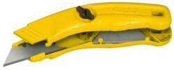 STANLEY 0-10-705 Nůž pevný kovový 125mm-Nůž s pevnou čepelí
