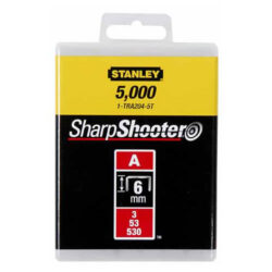 STANLEY 1-TRA204-5T Spony LD balení 5000ks 6mm typ-A-LD sponky typ A 5/53/530