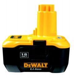 DEWALT DE9180 Akumulátor 18V 2,0Ah Lion-Baterie Li-Ion 18 V - nanotechnologie
