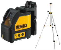 DEWALT DW088KTRI-XJ Laser křížový se stativem- Laser / Stativ Laser / Stativ