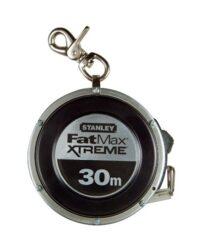 STANLEY 0-34-203 Pásmo 30m samonavíjecí FatMax-Pásmo uzavřené samonavíjecí s ocelovou páskou 30m