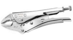 EXPERT E084809 Kleště samosvorné oblé 250mm-Upínací kleště s oblými čelistmi 250mm
