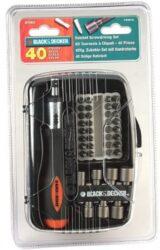 BLACK DECKER A7062 Sada nástavců 41dílná-Black-Decker 40-dílná sada bitů A7062