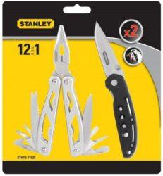 STANLEY STHT0-71028 Kleště mutifunkční 12v1 + nůž-Multifunkční nástroj 12 v 1 včetně nože