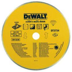 DEWALT DT3734 Kotouč diamantový 250mm pro D24000-DIA kotouč na kameninu a porcelán, 254 mm