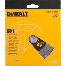 DEWALT DT3761 Kotouč diamantový 125mm-DIA kotouč na tvrdé materiály a žulu 125 mm