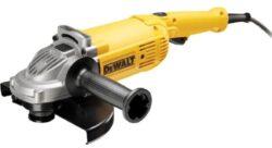 DEWALT DWE4579-QS Bruska úhlová 230mm 2600W-Velká úhlová bruska 230 mm