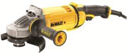 DEWALT DWE4557-QS Bruska úhlová 180mm 2400W-Velká úhlová bruska 180 mm pro náročné práce - 2400 W
