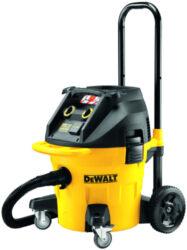DEWALT DWV902L-QS Vysavač 1400W 38L-Vysavač na staveniště třídy L s objemem nádoby 35 l