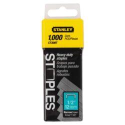 STANLEY 1-CT308T Spony balení 1000ks 12mm-Spony 12mm typ CT300 bal 1000ks