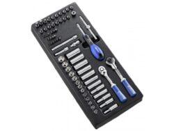 "EXPERT E030715 Modul s nářadím 67dílný sada hlavic 1/4""-67dílná sada 1/4'' nářadí v modulu"