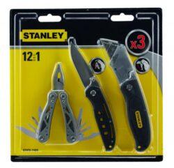 STANLEY STHT0-71029 Kleště mini mutifunkční 12v1 + 2 nože-Kleště multifunkční 12v1 v sadě