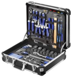 EXPERT E220107 Sada servisního nářadí 142dílná-Sada servisního nářadí v kufru 143 dílů