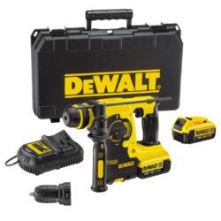 DEWALT DCH254M2-QW Aku kladivo kombi 18V 4,0Ah Li-ion-Výkonné kompaktní jednoúčelové kladivo 18 V XR Li-Ion se 3 provozními režimy