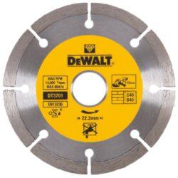 DEWALT DT3701 Kotouč diamantový 115mm-DIA kotouč na řezání betonu a cihel 115mm