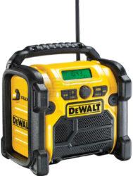DEWALT DCR019-QW Aku přenosné rádio 10,8-18V AUX (bez akumulátoru)-Aku přenosné rádio bez aku