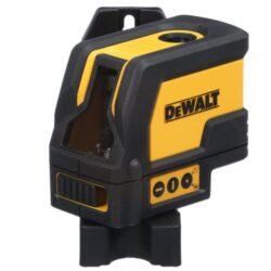 DEWALT DW0822-XJ Laser křížový s olovnicí-Laser DEWALT s laserovým křížem a s jedním svislým bodovým paprskem