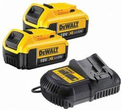 DEWALT DCB105P2 Set akumulátorů s nabíječkou 18V 2x5,0Ah-Set akumulátorů s nabíječkou 18V 2x5,0Ah