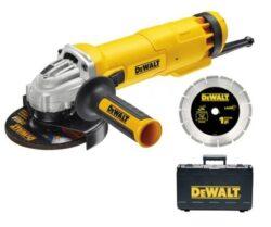 DEWALT DWE4217KD Bruska úhlová 125mm 1300W-Bruska úhlová 125mm 1300W