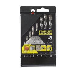 STANLEY STA56068-QZ Sada vrtáků do betonu 3-10mm 8dílná FatMax-Sada vrtáků do betonu 3-10mm 8dílná FatMax