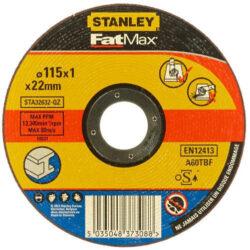 STANLEY STA32622-QZ Kotouč řezný 115x1,6mm na hliník