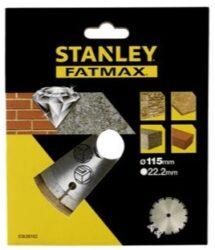 STANLEY STA38102-XJ Kotouč diamantový 115mm na beton