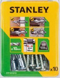 Kotva rozpínací s vrutem 10x60mm SET10 STANLEY STF101010-XJ