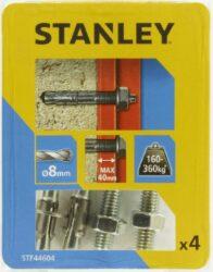 Kotva průvlaková rozpínací se šroubem 8x90mm SET4 STANLEY STF44604-XJ
