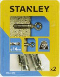 Kotva štítová rozpínací s okem 14x50mm SET2 STANLEY STF41802-XJ