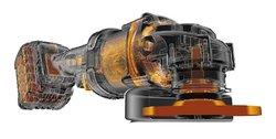 DEWALT DCG414T2 FLEXVOLT Aku bruska úhlová 54V 2x aku 125mm XR                  (7903109)