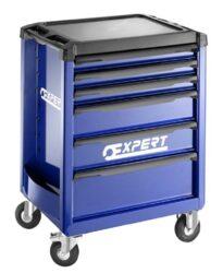 EXPERT E010192 Montážní skříň pojízdná prázdná 6z-Montážní skříň pojízdná prázdná 6z