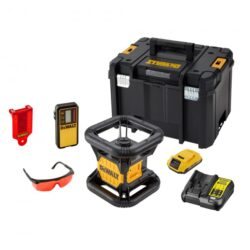 DEWALT DCE074D1R-QW Aku laser rotační 10,8V 1x2,0Ah červený paprsek-Aku laser rotační 10,8V 1x2,0Ah červený paprsek