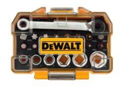 "DEWALT DT71516-QZ Sada bitů a hlavic s mikroráčnou 1/4"" (24dílná)(7912253)"