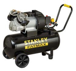 STANLEY DV2 400/10/50 + KIT Kompresor olejový s příslušenstvím 8119500STF522KIT-Olejový dvouválcový V kompresor s příslušenstvím 2,2kw 50l 10bar