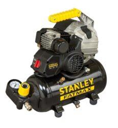 STANLEY HY 227/8/6E Kompresor olejový HYBE404STF508-Samomazný přímo řízený kompresor 1,5kW 6l 8bar