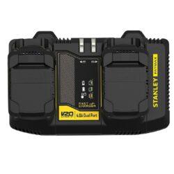 STANLEY SFMCB24-QW Nabíječka duální 20V 4,0A s USB SFM-Nabíječka duální 20V 4,0A s USB