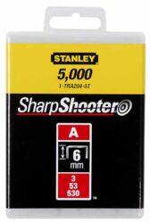 STANLEY 1-TRA202T Spony LD balení 1000ks 4mm typ-A-LD sponky typ A 5/53/530
